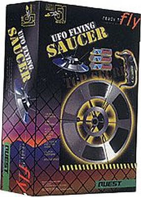 Quest UFO Flying Saucer Starter Set