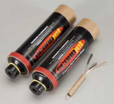 Aerotech F27-8R Econojet Single Use Rocket Motor 2 Pack