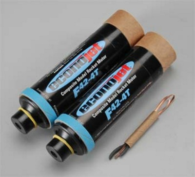 Aerotech F42-4T Econojet Single Use Rocket Motor 2 Pack