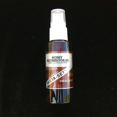BSI Insta-Set Cyanoacrylate Accelerator 2 oz. Pump Spray