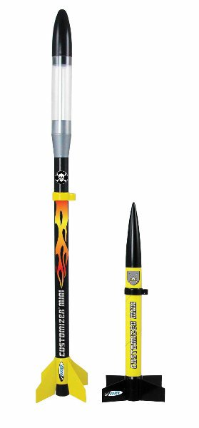 Estes Customizer Mini Model Rocket Launch Set