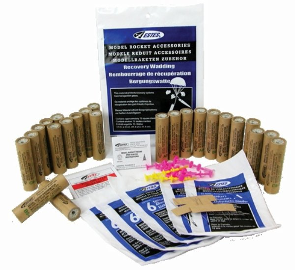 Estes Model Rocket Motor Bulk Packs