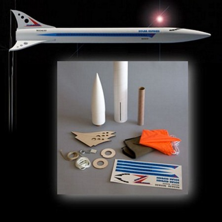 Mad Cow Rocketry Solar Express Kit