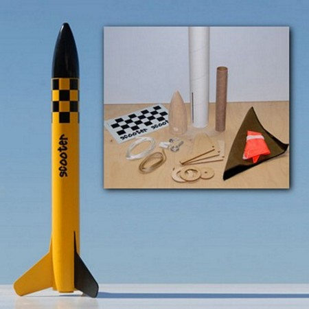 Mad Cow Rocketry Scooter Kit