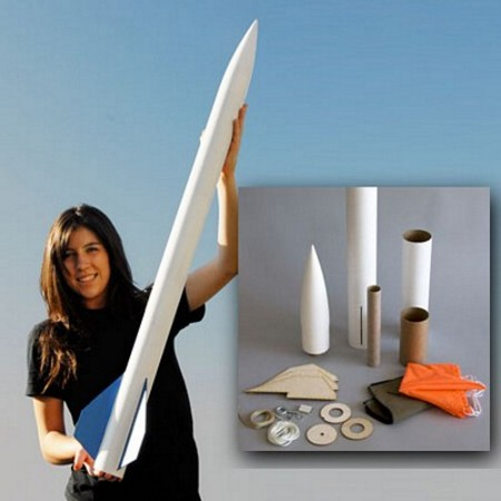 Mad Cow Rocketry DX3 Kit