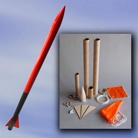 Mad Cow Rocketry Screech Kit