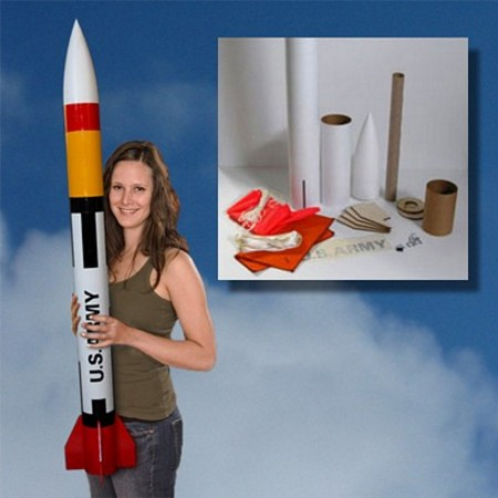Mad Cow Rocketry Patriot Kit