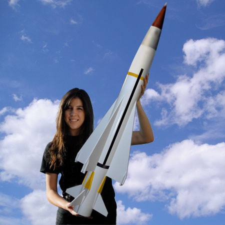Mad Cow Rocketry Sea Wolf Missile Kit
