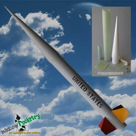 Mad Cow Rocketry 4.0in Nike Smoke Kit