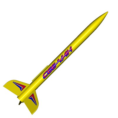 ModelRockets.us Ceeyah Model Rocket Kit