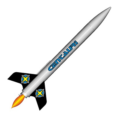 ModelRockets.us Centauri Model Rocket Kit