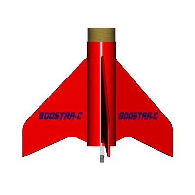 ModelRockets.us Boostar-C Rocket Staging Kit