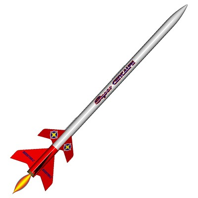 ModelRockets.us Super Centauri/Boostar-C 2 Stage Model Rocket Ki