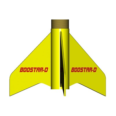 ModelRockets.us Boostar-D Rocket Staging Kit