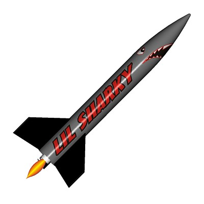 ModelRockets.us Lil Sharky Model Rocket Kit