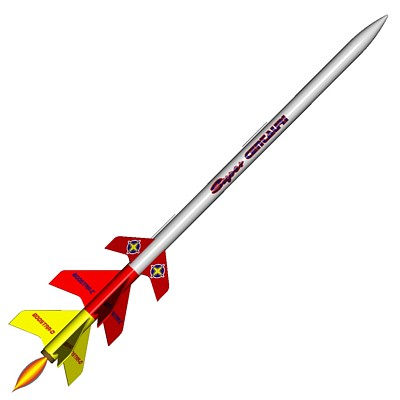 ModelRockets.us Super Centauri/Boostar-C/Boostar-D 3 Stage Model