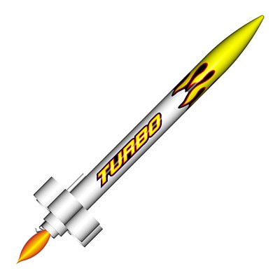 ModelRockets.us RTF Turbo Model Rocket Kit