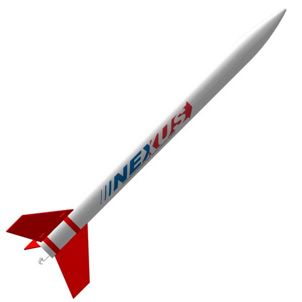 ModelRockets.us Nexus Bulk Pack of 12 Rocket Kits (Parachute)