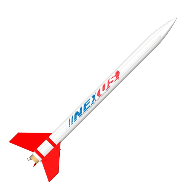 ModelRockets.us Nexus Model Rocket Kit (Parachute)