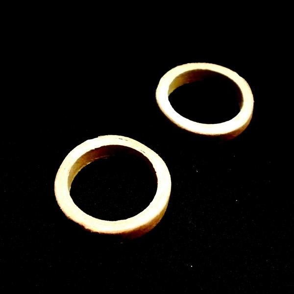 ModelRockets.us BT-50 to BT-55 Fiber Centering Ring 2 Pack