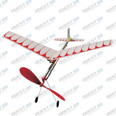 Quest Rubber Powered Glider Kit
